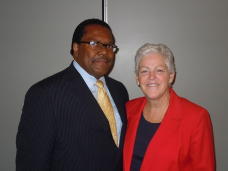 Joint Center President and CEO Ralph B. Everett meets EPA Administrator Gina McCarthy.