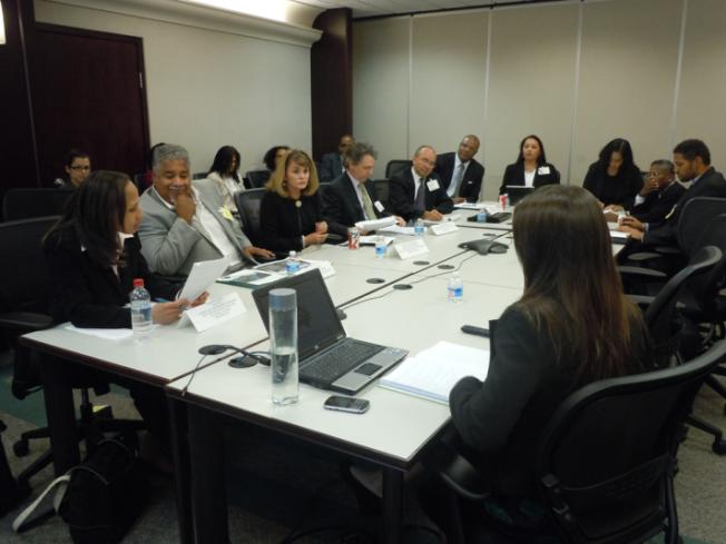 Climate leaders meet at the DoE's Minorities in Energy kick-off.